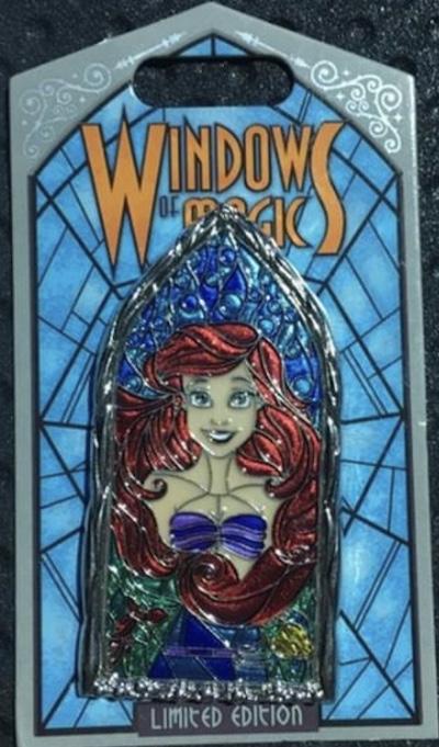 Ariel Windows of Magic Pin