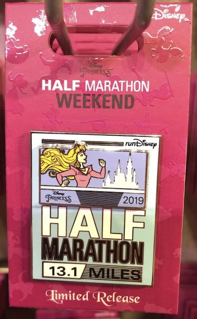 Aurora Half Marathon Princess 2019 Pin