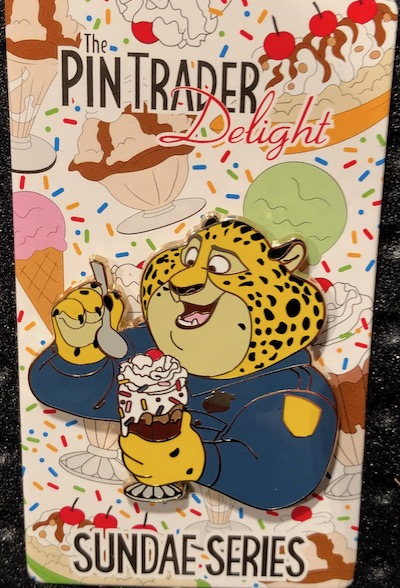 Clawhauser Pin Trader Delight