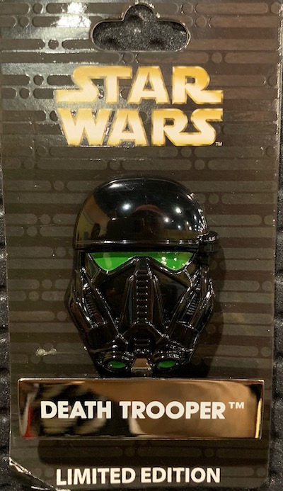 Death Trooper Helmet Disney Pin