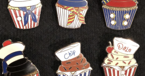 Disney Cruise Line Cupcake Mystery Pins