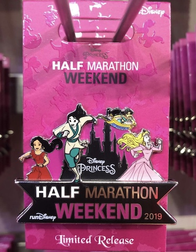 Disney Princess Half Marathon Weekend 2019 Pin