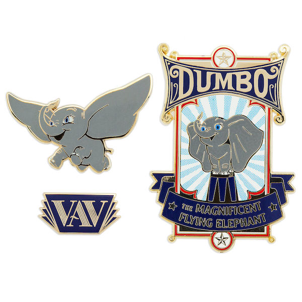 Dumbo Live Action Pin Set - shopDisney