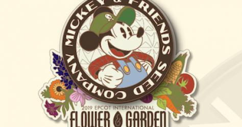 Epcot 2019 Flower Garden Pins