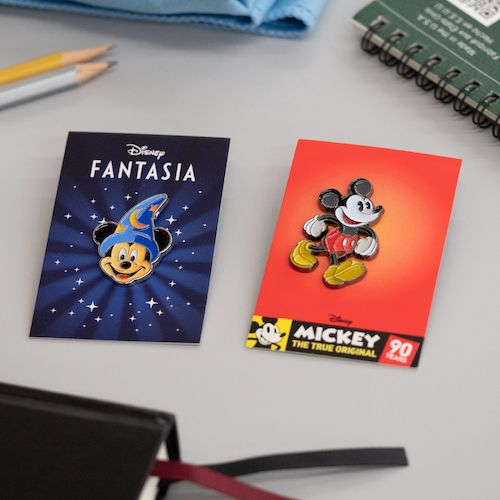 Fantasia and Mickey Mondo Disney Pins