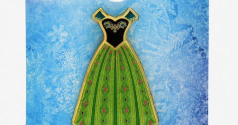 Frozen Anna Dress BoxLunch Disney Pin