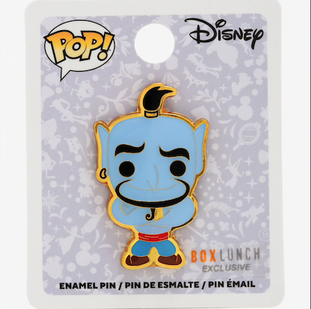 Genie Funko Pop! Disney BoxLunch Pin