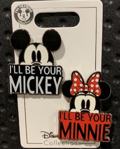 I'll Be Your Mickey:Minnie Pin Set