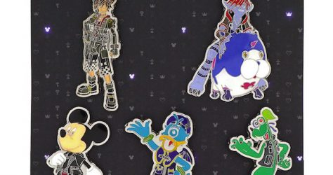 Kingdom Hearts 3 Loungefly Pin Set