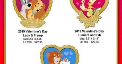 MOG February 2019 Surprise Release Disney Pins