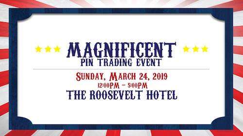 Magnificent DSSH Pin Trading Event