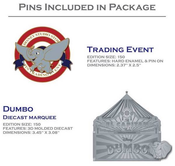 Magnificent Pin Trading Event Pins