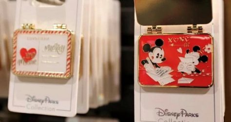 Mickey & Minnie Love Letter Disney Pin
