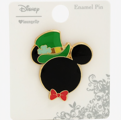 Mickey Mouse Lucky St. Patrick's Day BoxLunch Disney Pin