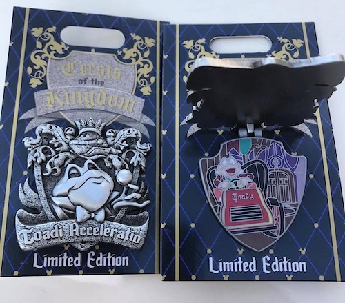 Mr. Toad's Wild Ride Crests of the Kingdom Pin