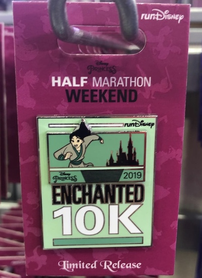 Mulan 10k Princess 2019 Pin