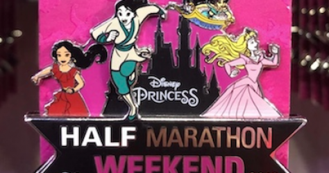 Princess Half Marathon Weekend 2019 Disney Pin