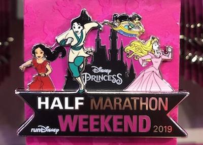Princess Half Marathon Weekend 2019 Disney Pin