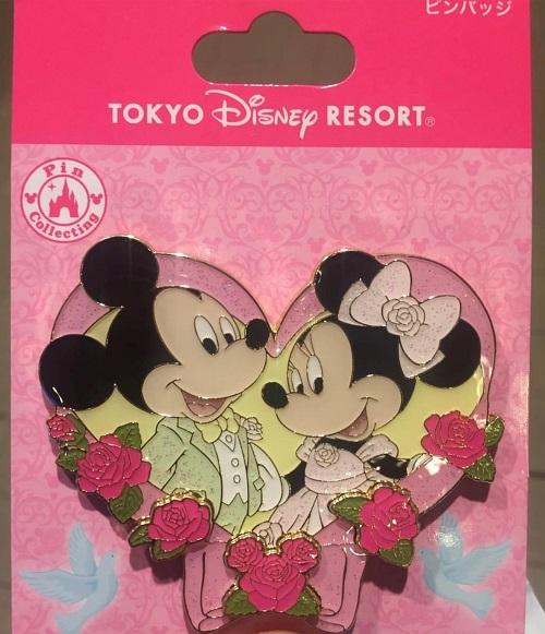 Valentine's Day 2019 Tokyo Disney Resort Pin