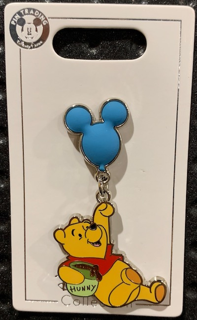 Winnie the Pooh Balloon Pin