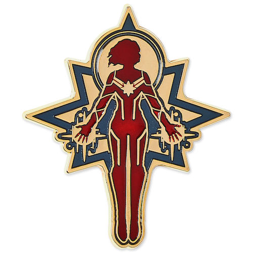 shopDisney Captain Marvel Pin