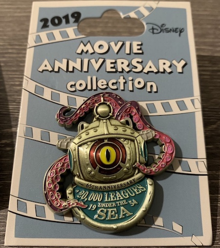 20,000 Leagues Under the Sea 65th Anniversary Pin