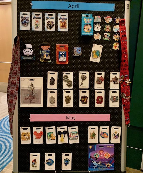 April 2019 Disney Pin Preview