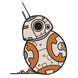 BB-8 SWC 2019 Pin