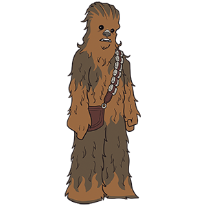 Chewbacca SWC 2019 Pin