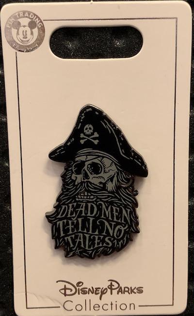 Dead Men Tell No Tales 2019 Pin