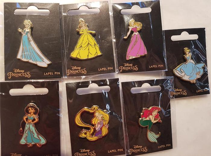 Disney Princess David Jones Pins