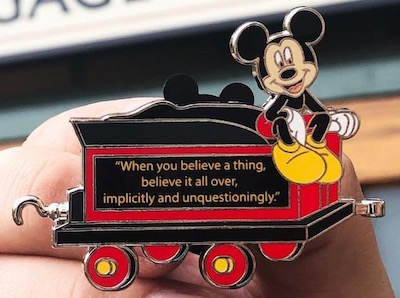 Disneyland Passholder Train Series 2019 Pin #2