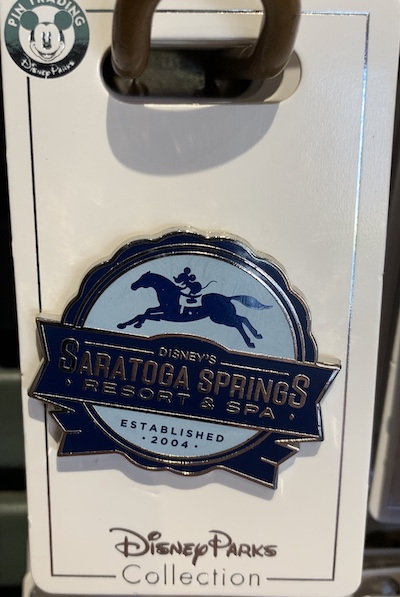 Disney's Saratoga Springs Resort 2019 Pin
