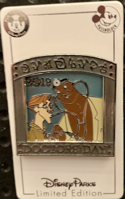 Doctor's Day 2019 Disney Pin