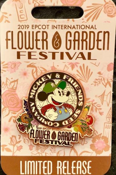 Flower & Garden 2019 Logo Pin