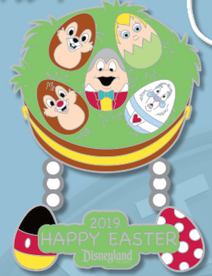 Happy Easter 2019 Disneyland Pin