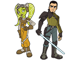 Hera Syndulla & Kanan Jarrus - Star Wars Celebration 2019