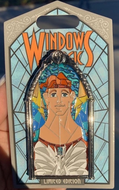 Hercules Windows of Magic Pin