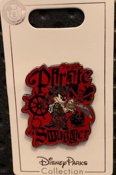 I've Got Pirate Swagger Disney Pin