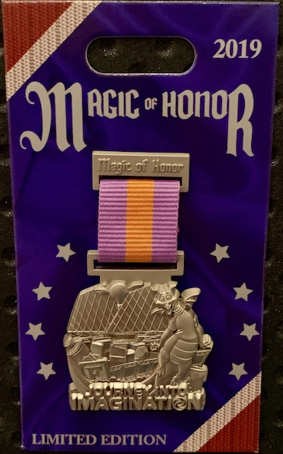 Journey Into Imagination Magic of Honor Pin