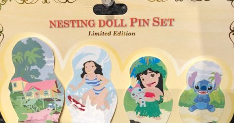 Lilo & Stitch Nesting Dolls Pin Set