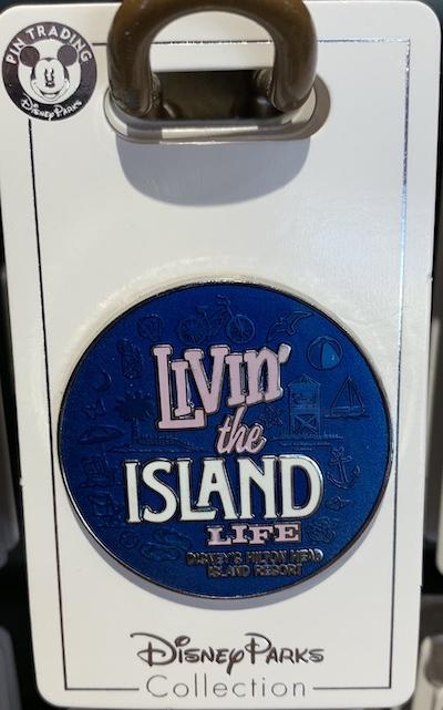 Livin' the Island Life Disney Pin