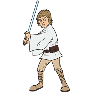 Luke Skywalker SWC 2019 Pin