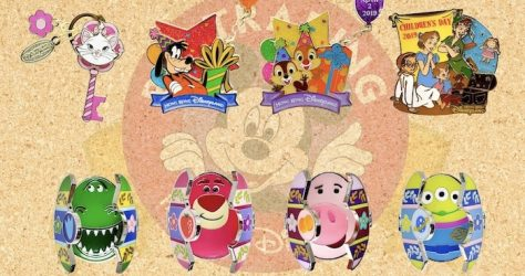 March 2019 HKDL Limited Edition Pin Releases
