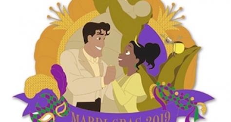 Mardi Gras 2019 Tiana Pin