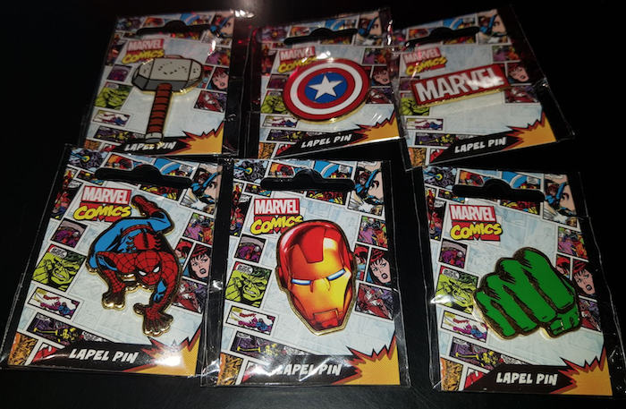 Marvel David Jones Pins