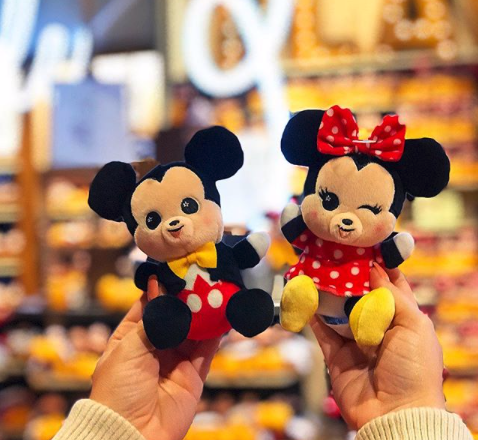 Mickey & Minnie Disney Wishables