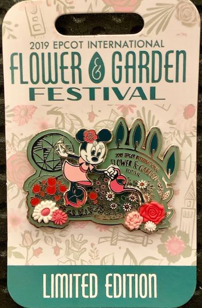 Minnie's Garden Pin - Epcot Flower & Garden 2019