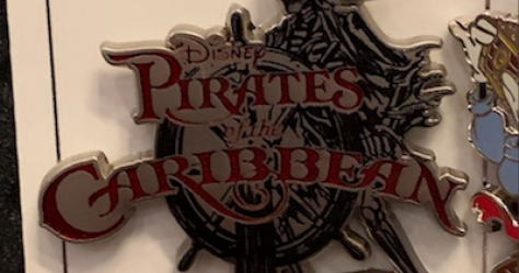 Pirates of the Caribbean 2019 Disney Pin Series