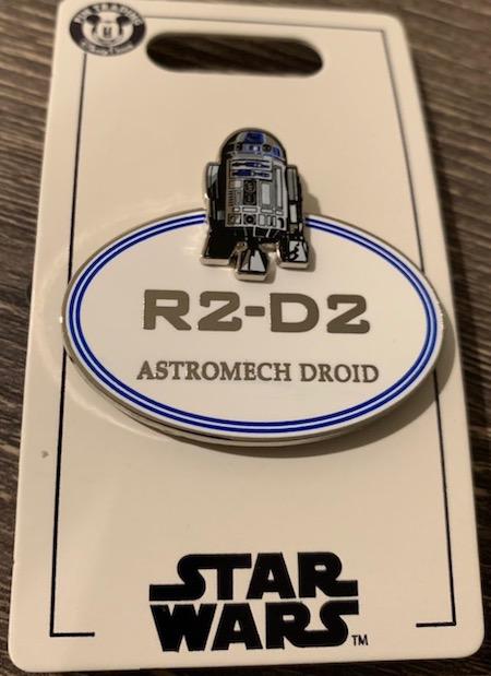 R2-D2 Astromech Droid Cast Member Pin